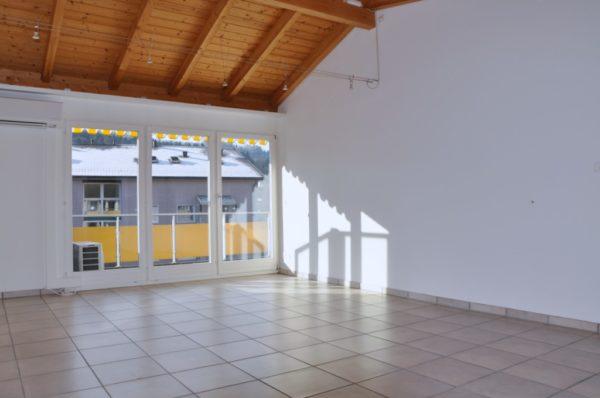 2.5-Zimmer-Attika-Wohnung an zentraler Lage